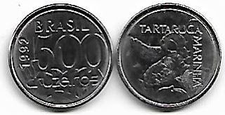 500 Cruzeiros, 1992