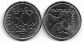 Moeda de 500 Cruzeiros, 1992
