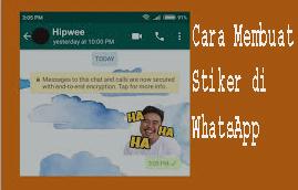 Cara Membuat Stiker di Whatsapp 1