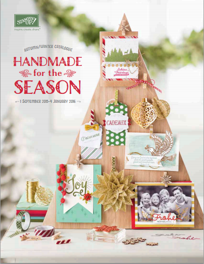 The New Stampin Up Autumn Winter Catalogue is live