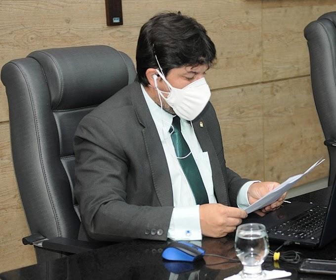 Fagner lamenta não aprovação de PL que pedia mais transparência na locação de prédios de uso da prefeitura