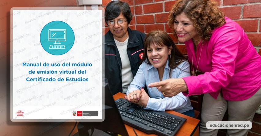 MINEDU: Disposiciones excepcionales para la emisión del Certificado Oficial de Estudios