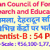 INDIAN COUNCIL OF FORESTRY RESEARCH AND EDUCATION Recruitment 2019