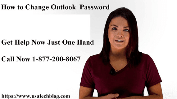 How to Change Outlook Password 1-877-200-8067 In All Devices?