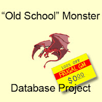 "Free GM Resource: ""Old School"" Monster Database Project"