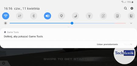 Samsung Game Tools uruchamianie w grach