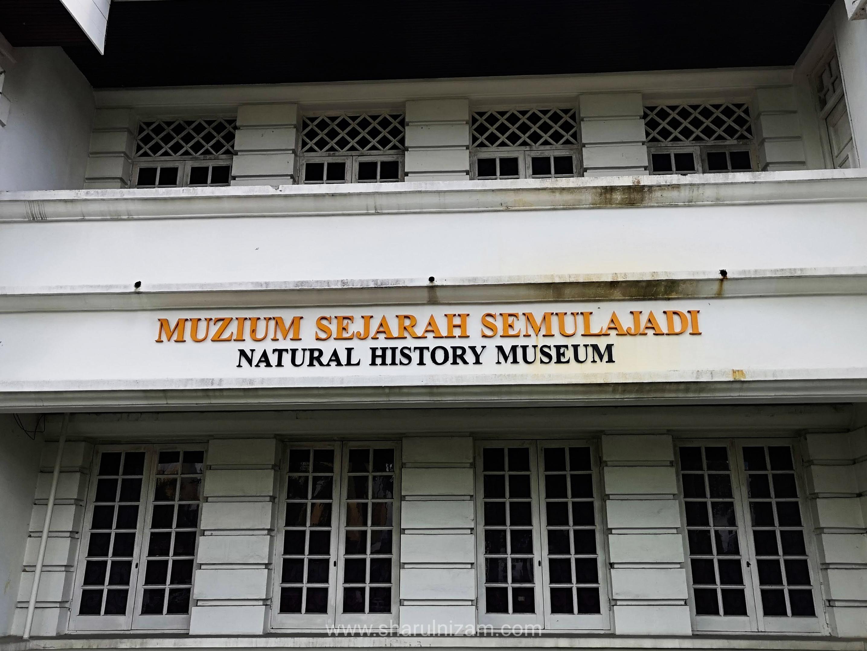 Mencari Asteroid Di Muzium Negeri Sarawak