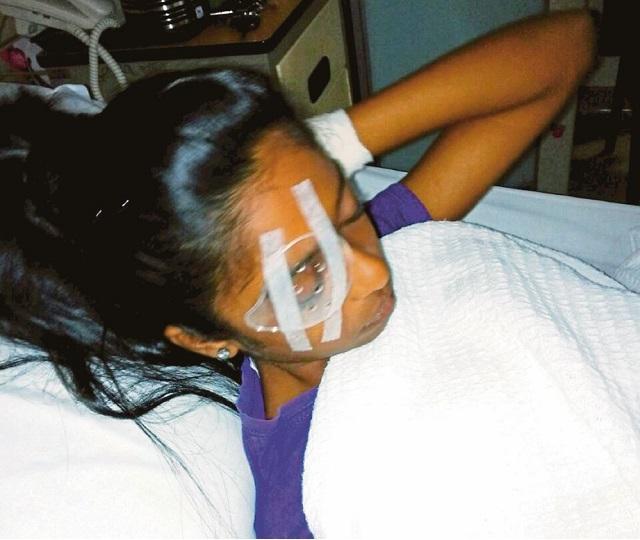 Mata Pelajar Perempuan 14 tahun Mungkin Buta Dibaling Pembaris