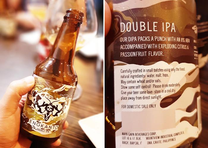 Engkanto Craft Beer Double IPA