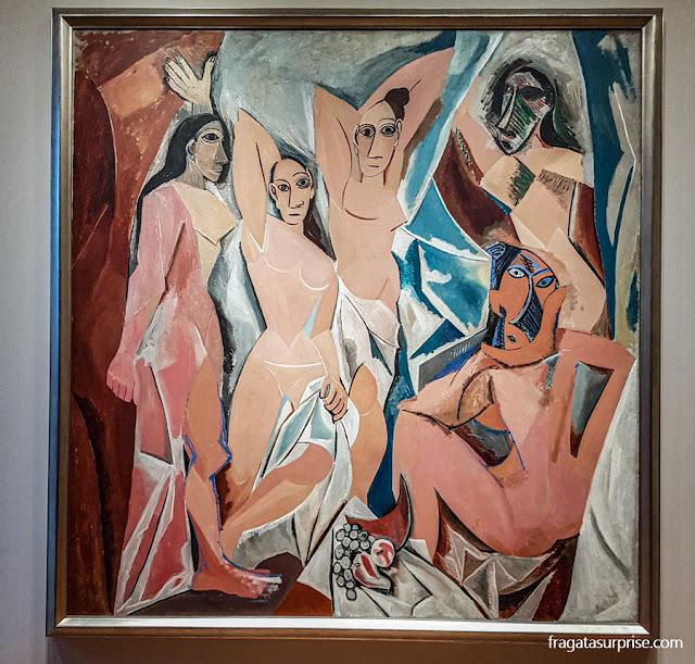 "MoMA, Nova York, ""As Senhoritas de Avignon"", de Pablo Picasso"