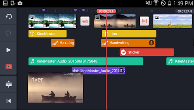 Screenshoot: KineMaster Pro Video Editor for Android