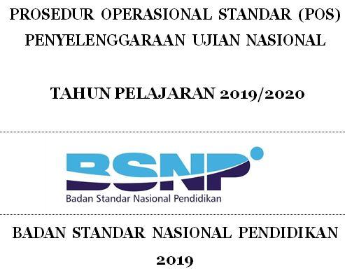 POS Ujian Nasional 2019/2020