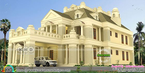 Luxurious Colonial house 4450 square feet