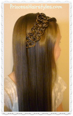 Braided 4-strand slide up braid tutorial