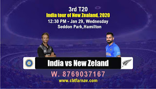 Ind vs Nz T20 3rd T20