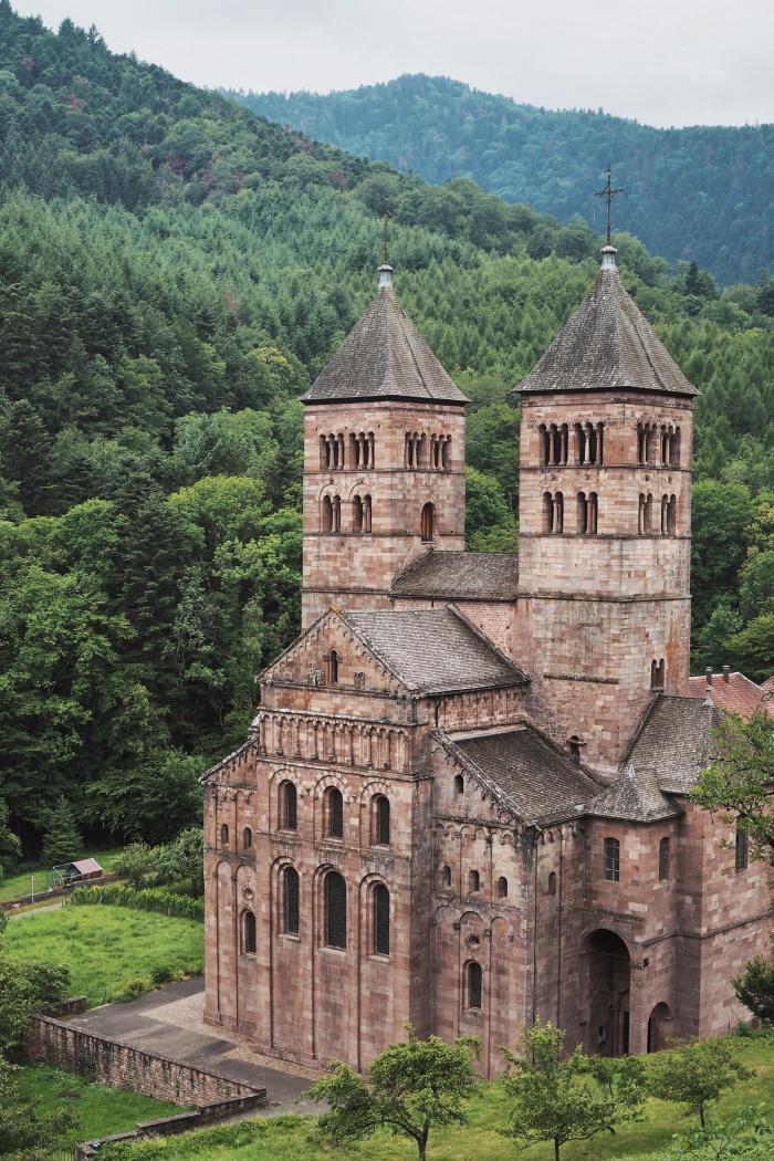 Abbaye de Murbach en Alsace