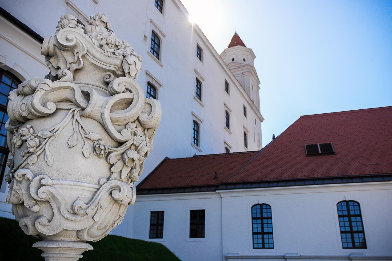Bratislava Castle English Gardens