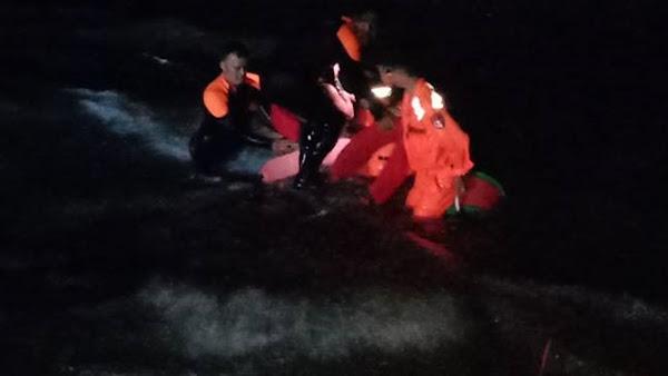 彰化酒醉男險成消波塊 海巡警消火速救援
