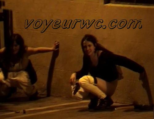 Couple Having Sex in Public on Street Hidden Cam (Galician Night Sex 88-89)