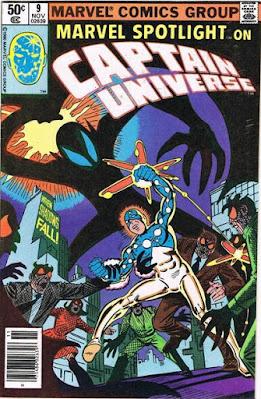 Marvel Spotlight #9, Captain Universe