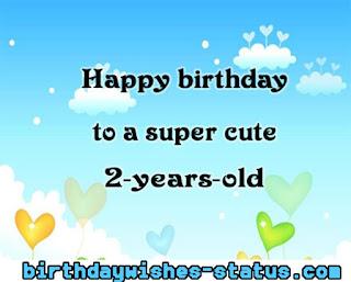 happy 2nd birthday wishes