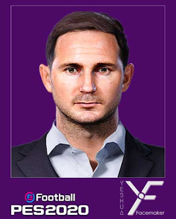PES 2020 Faces Frank Lampard by Yeshua Facemaker