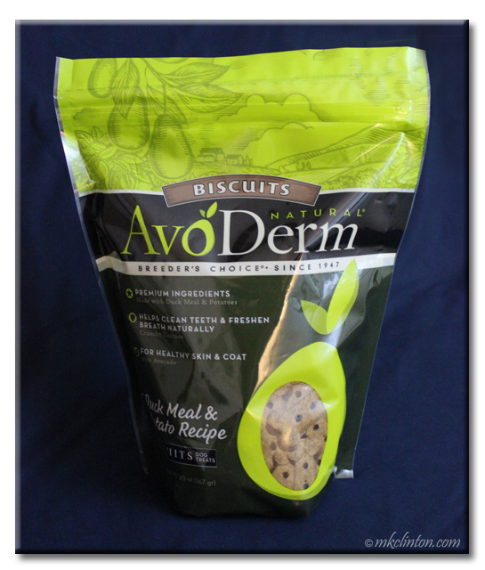 AvoDerm Natural dog biscuits