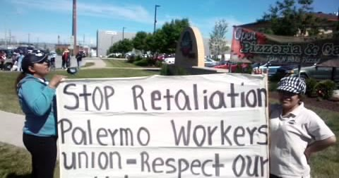 Image result for palermo pizza workers striking