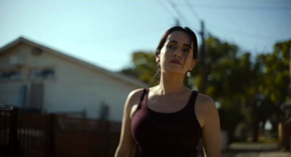 Adela (Ana de la Reguera) is a survivor trying to get through the post-Purge mayhem plaguing Texas and the rest of the United States in THE FOREVER PURGE.