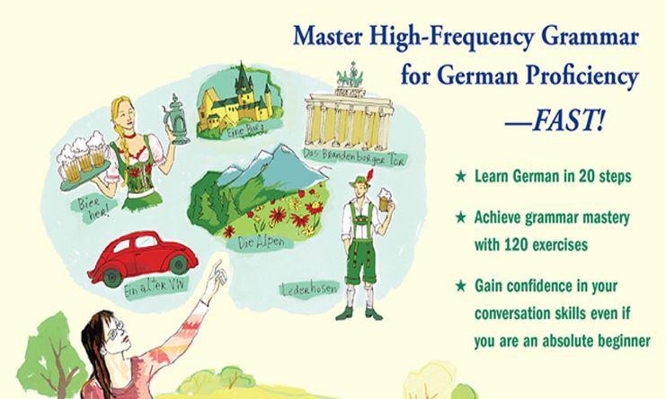 حصرياً كتاب تعلم الألمانية خطوة بخطوة