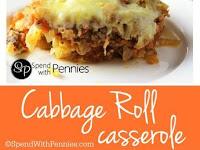 Cabbage Rolls Casserole Recipe