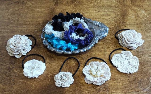 Crochet Hairband Covers