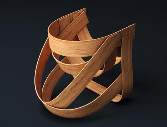 gambar contoh furniture bambu