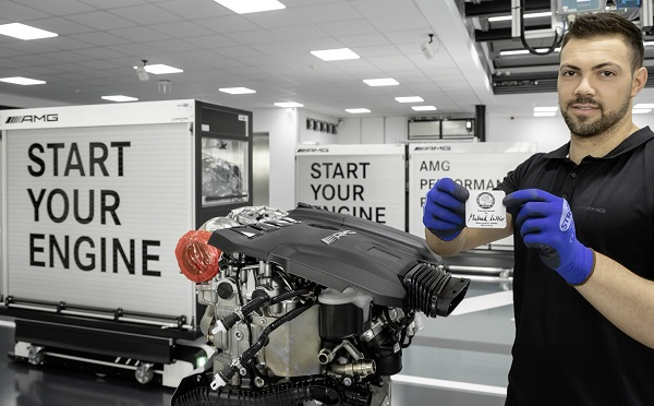 Motor M 139 Mercedes-AMG