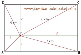 persegi panjang ABCD dan P www.jawabanbukupaket.com