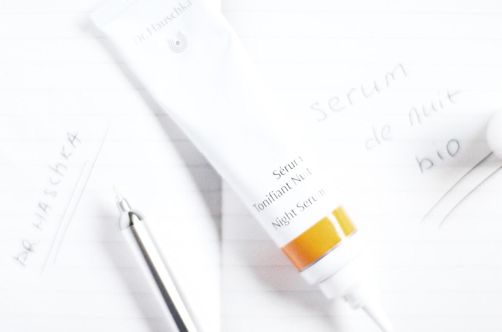 dr hauschka serum tonifiant nuit avis test