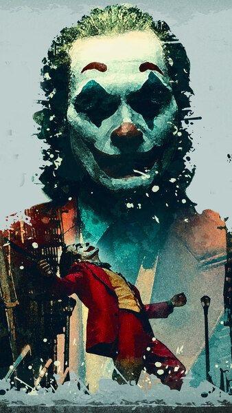 Joker Art Phoenix Movie 2019 4k