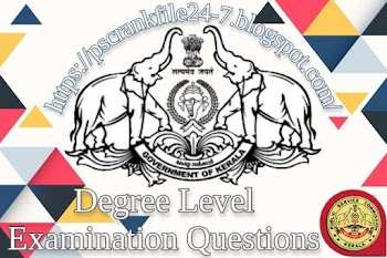 Degree Level Expected Questions - 07 (Modern India &  Renaissance)