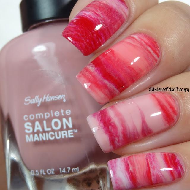 Blush Smoosh Manicure