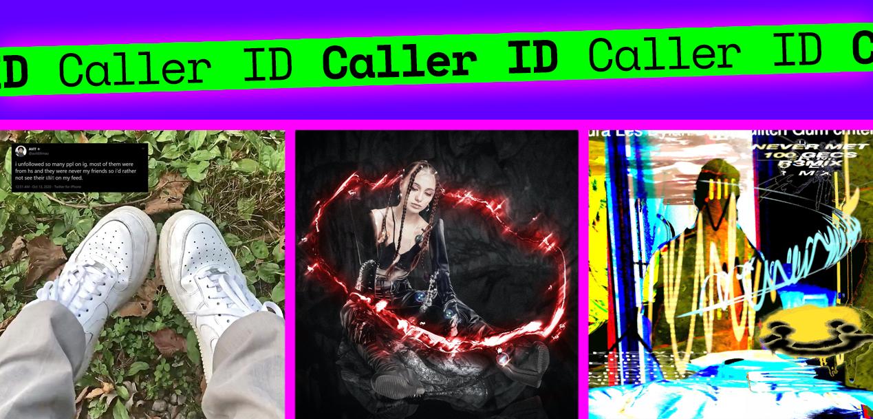 Caller ID album covers
