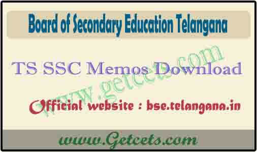 TS SSC Memo download 2021 bse telangana, 10th short marks memo
