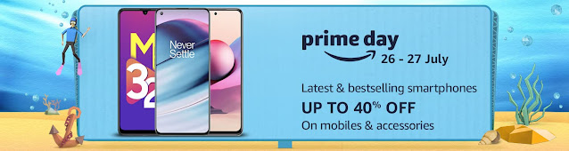 Amazon Prime Day 2021 Deals on Smartphones and accessories