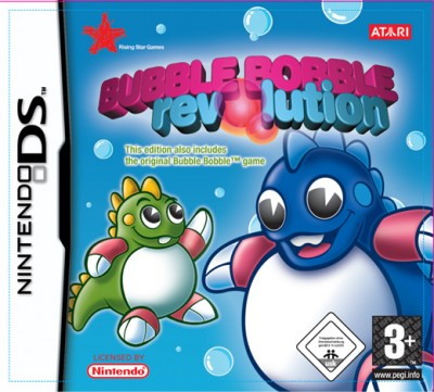 Bubble Bobble Revolution para nintendo ds español 1 link mega mediafire