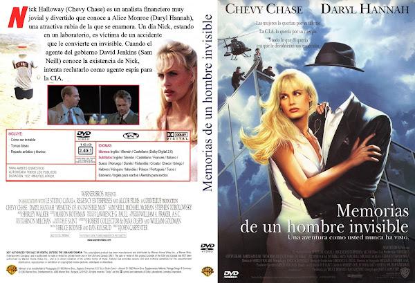 Carátula dvd: Memorias de un hombre invisible