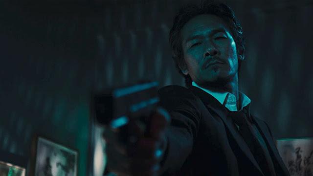 japanese man with a gun