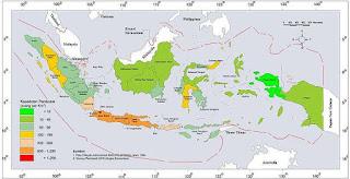 Kondisi Persebaran Penduduk di Indonesia