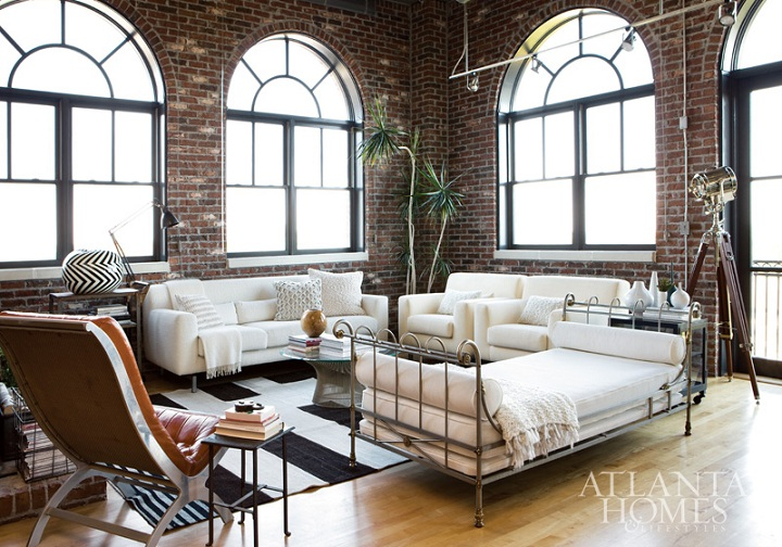 Mix And Chic Home Tour A Contemporary Open Plan Buckhead