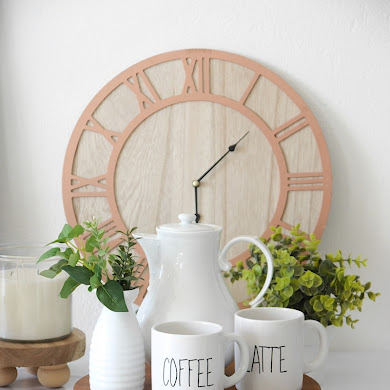 DIY Farmhouse Stands and Risers