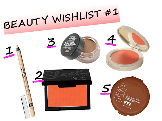 Beauty Wishlist #1