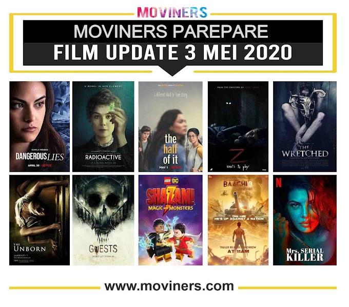 FILM UPDATE 3 MEI 2020